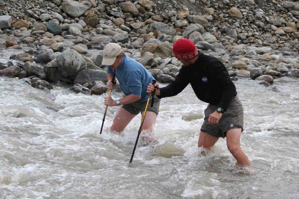 Alaska river crossing practice