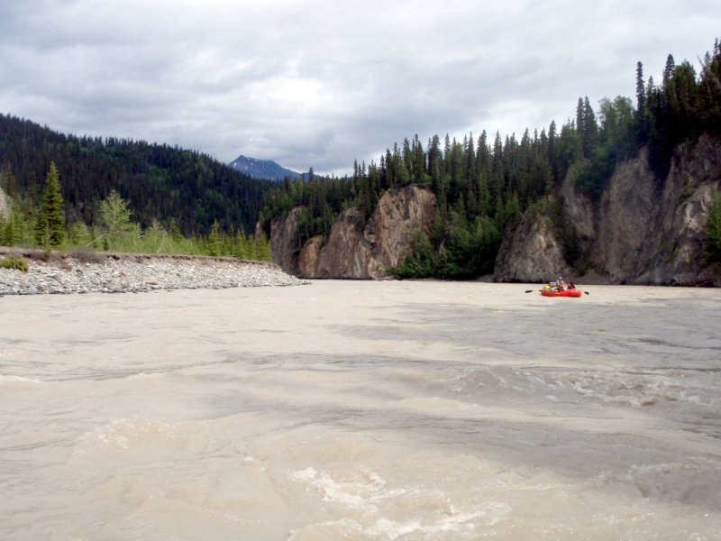 Nizina Canyon Rafting