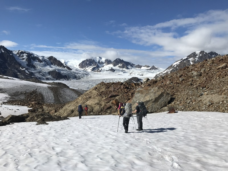 Backpackers on the Chugach Circuit