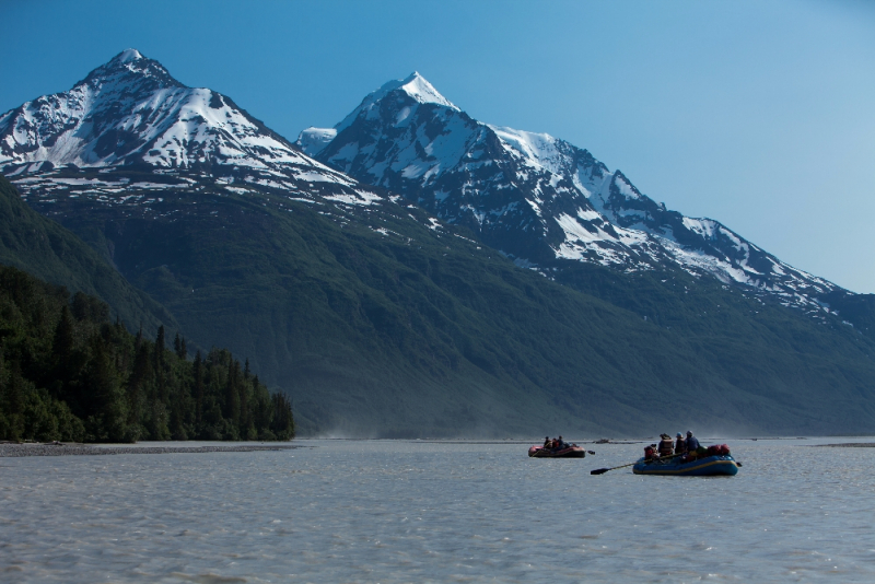 Rafting Alaska's Copper River