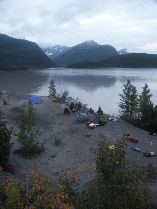 Camping on Copper River