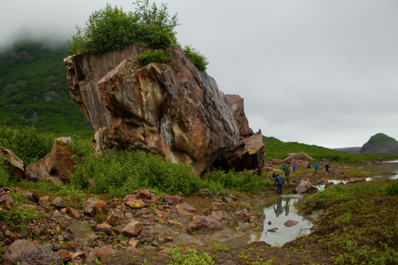 Hiking on Copper River