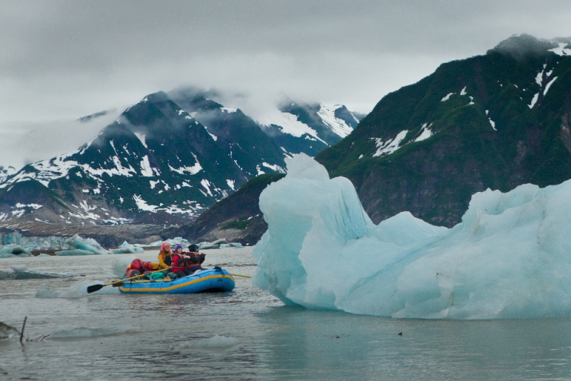 Icebergs on Copper River