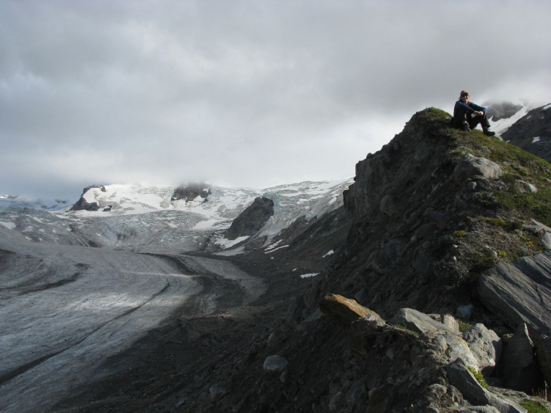Guided Alaska Day Hike to Fan Glacier