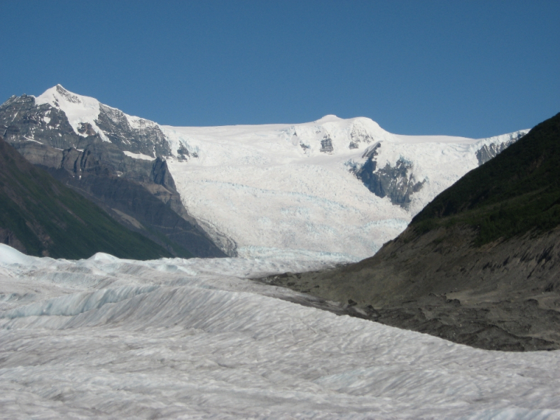 Stairway Icefall with Root Glacier