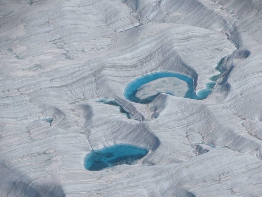 Glacier and blue pools JS12800