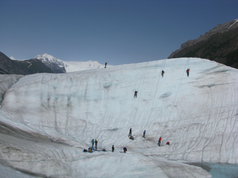 Group Ice Climbing