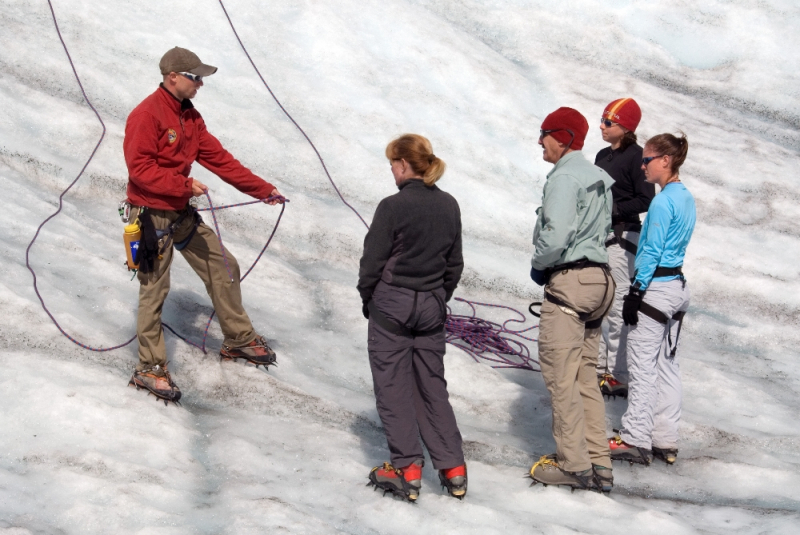 Teaching Ice Climbing