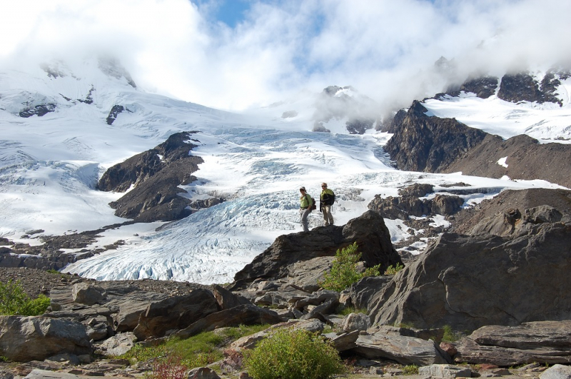 Hiking with Glaciers