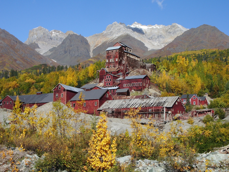 Kennecott copper mill townsite