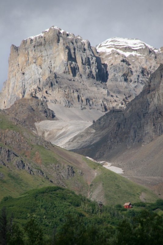 Castle Rock from Kennecott