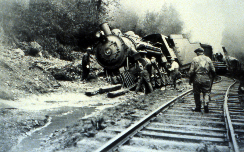 Kennecott train wreck