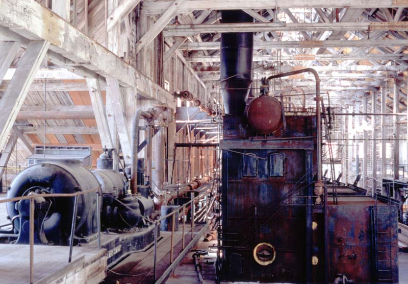 Powerhouse in Kennecott Alaska