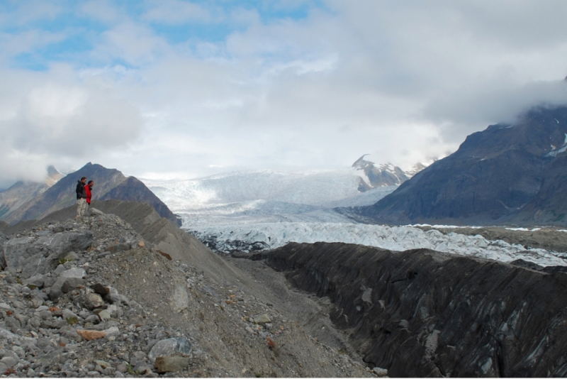 Guided Alaska Day Hikes Kennicott Glacier