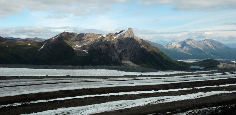 Day Hiking Kennicott Glacier Alaska
