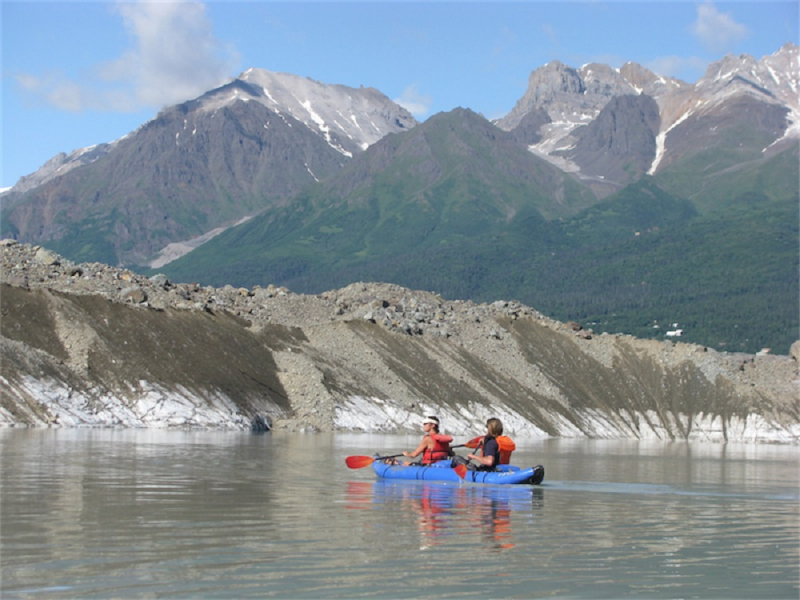 alaska inflatable kayaking