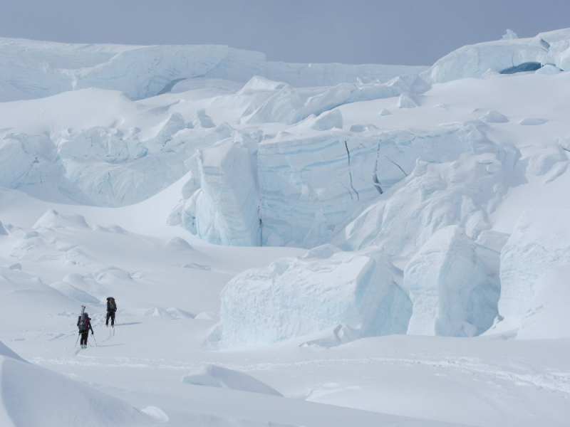 Navigating the icefall