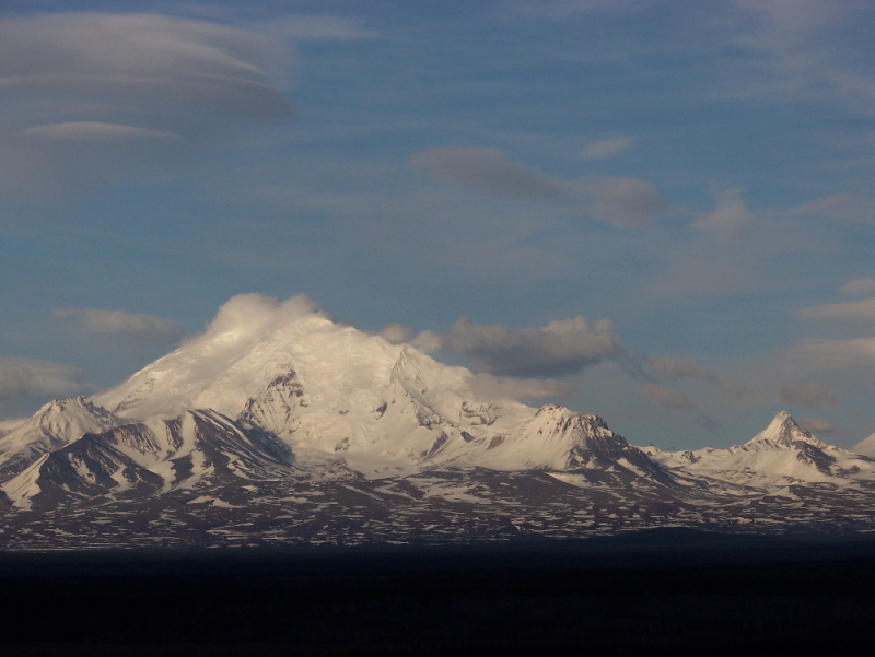 Mt Drum from the Richardson Highway