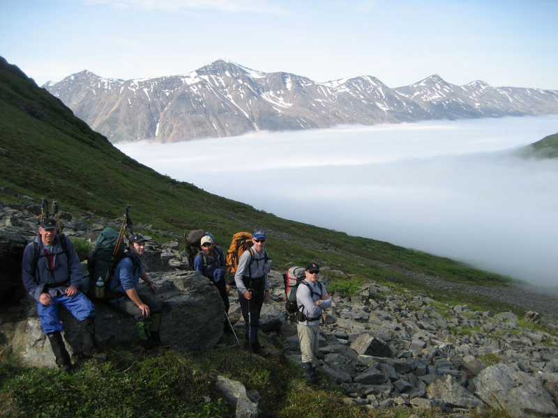 St.Elias alpine guides backpackers