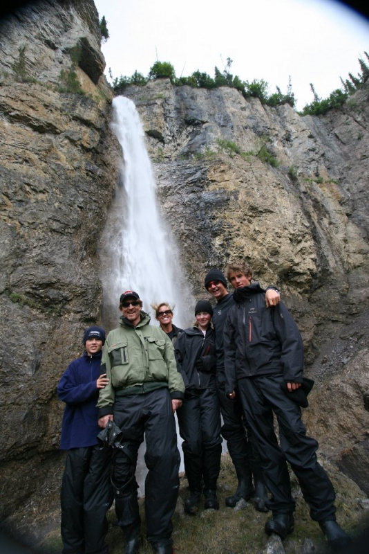 Alaska Waterfall Hiking