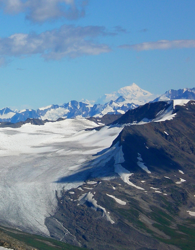 Mt St Elias from Iceberg Lake