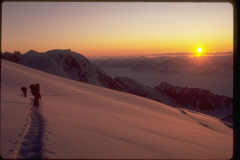 Sunset from St elias