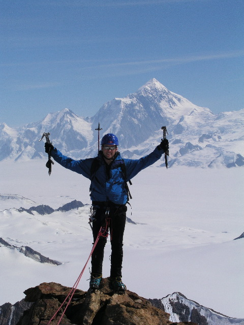 Summit with St Elias