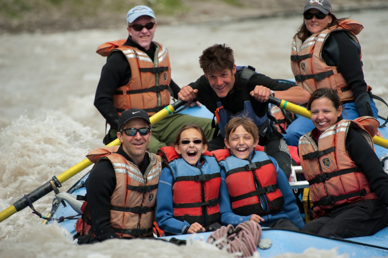 Whitewater rafting alaska