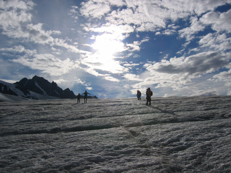 Alaska Glacier Hiking
