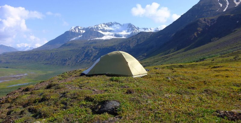 Great Alaskan campsite