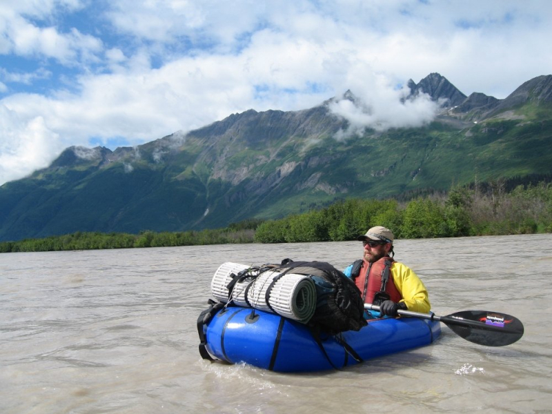 Alaska packrafting