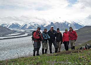 Hiking in Wrangell St. Elias