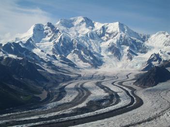 mount blackburn wrangell-st elias national park alaska