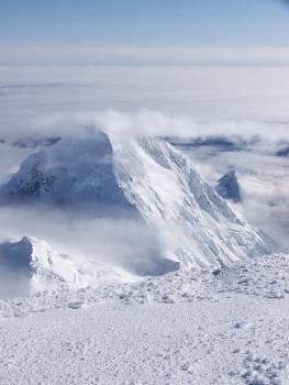 university peak in alaska