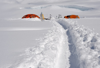 alaska backcountry skiing camp