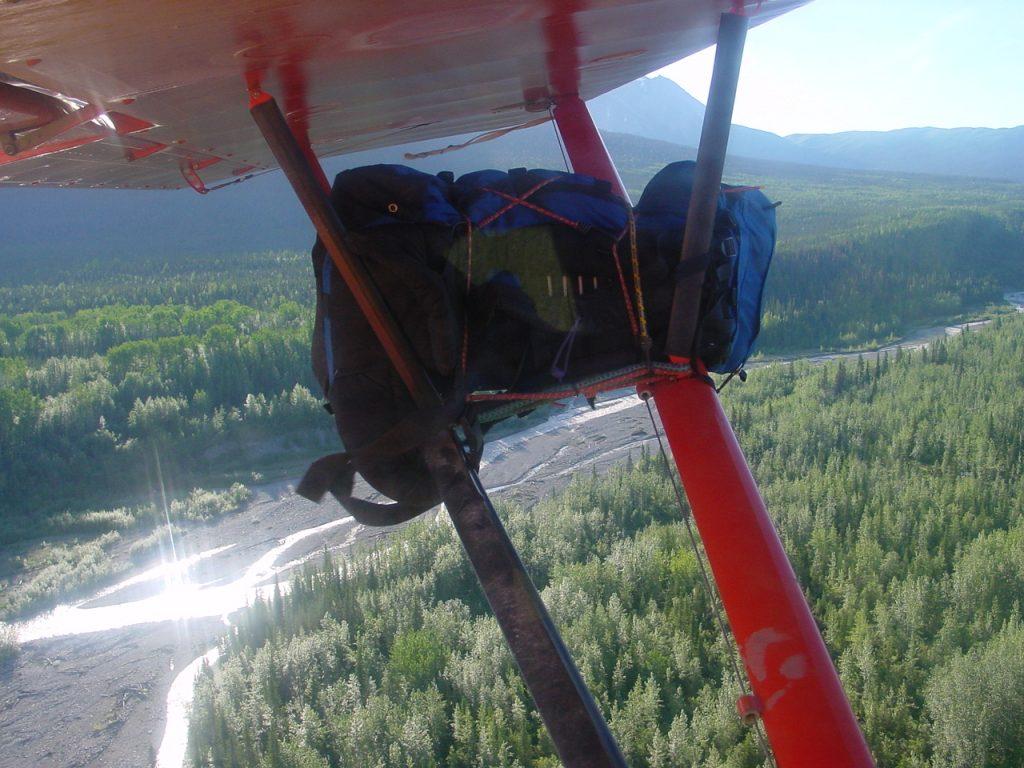 bush plane backpacking