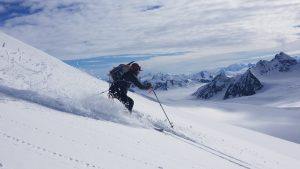 summer ski mountaineering