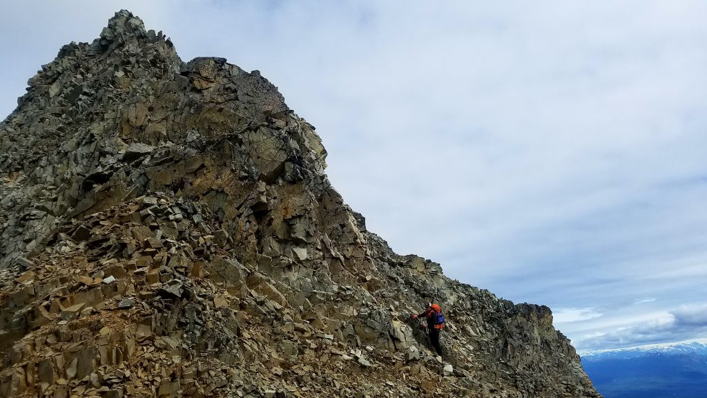 alaska mountain traverse