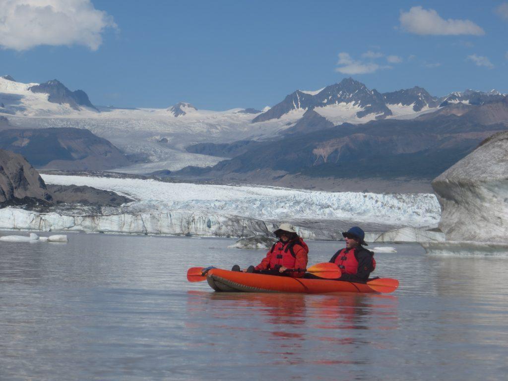 alaska iceberg paddling