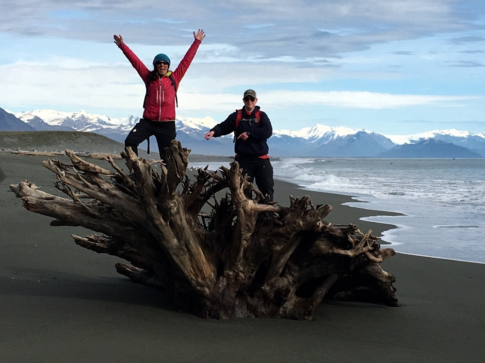 happy driftwood people